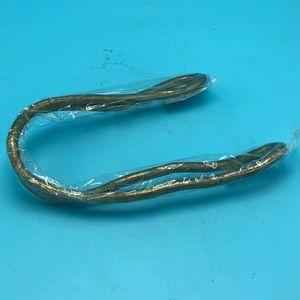 Jewelry - Gold Bendable Snake Coil Necklace Bracelet